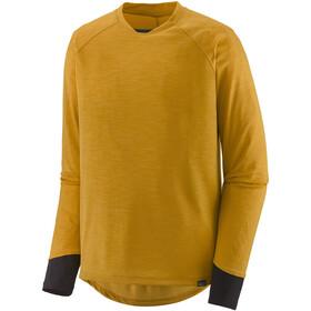 Patagonia Dirt Craft Maglia jersey a maniche lunghe Uomo, giallo